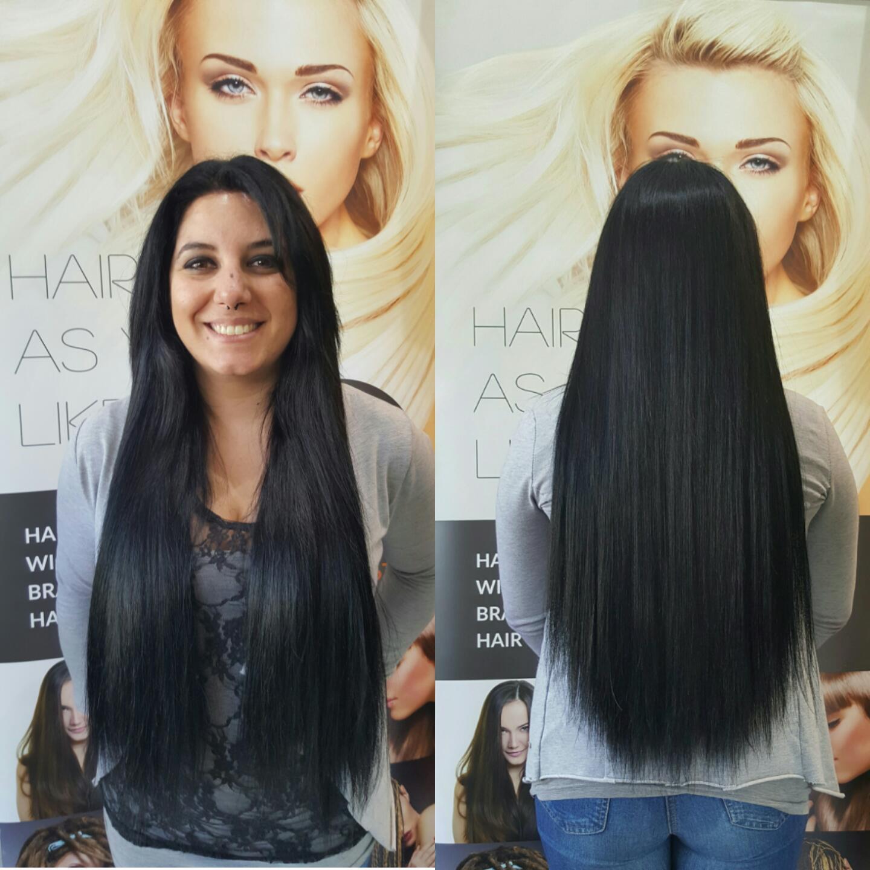 Micro Horizontal Wefts Human Hair Extensions