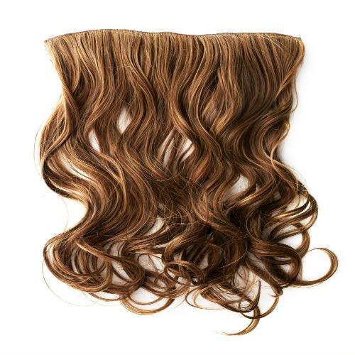 Brown hair piece